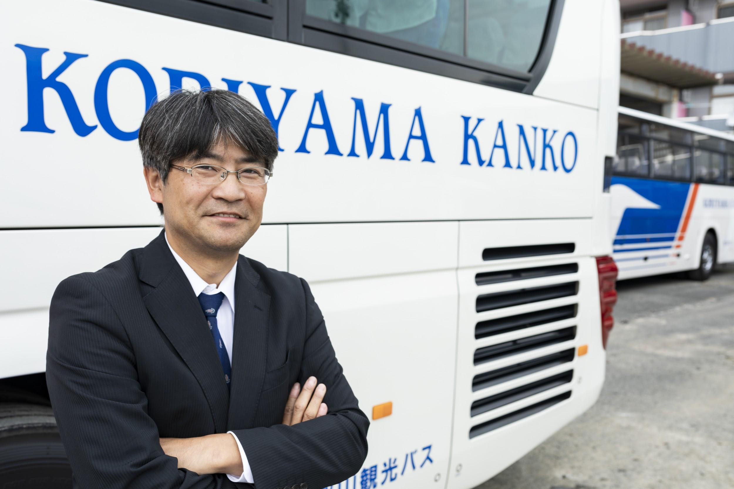 郡山観光交通株式会社 代表取締役 山口松之進さん